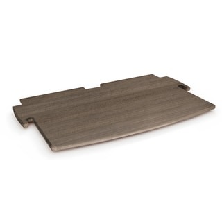 Legare Furniture Grey Driftwood Printer Shelf