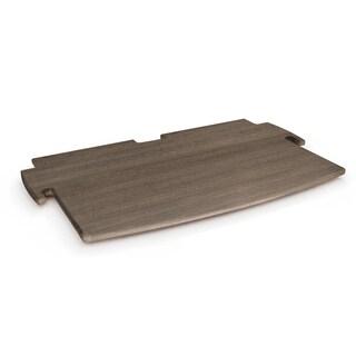 Legare Furniture Grey Driftwood Printer Shelf