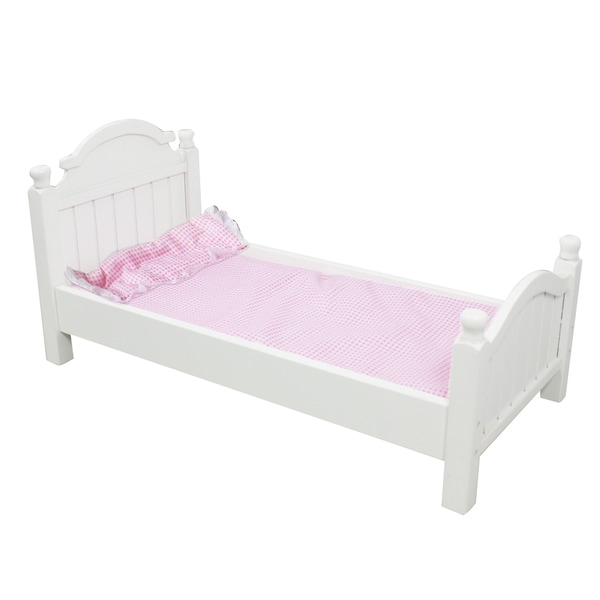 Teamson Kids My Sweet Girl 18 Inch Doll Single Bed Free