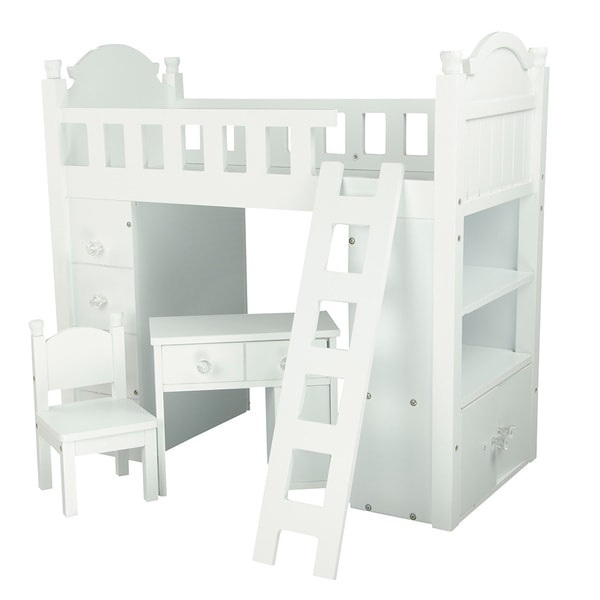 Shop Olivia S Little World My Sweet Girl 18 Inch Doll Bunk Bed