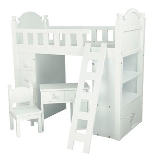 Olivia's Little World My Sweet Girl 18-inch Doll Bunk Bed