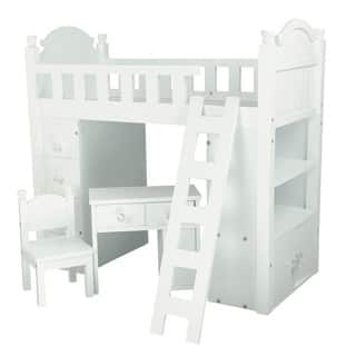 Olivia's Little World My Sweet Girl 18-inch Doll Bunk Bed|https://ak1.ostkcdn.com/images/products/10161026/P17290010.jpg?impolicy=medium
