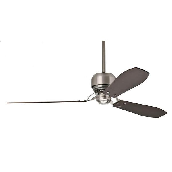 """Casablanca 60"""" Tribeca Ceiling Fan with Wall Control - Brushed Nickel. Opens flyout."""