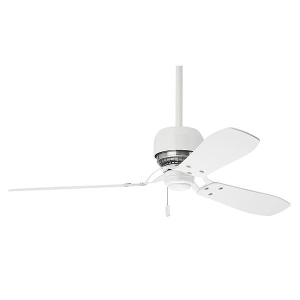 Shop casablanca 52 inch tribeca snow white 3 blade ceiling fan casablanca 52 inch tribeca snow white 3 blade ceiling fan aloadofball Image collections