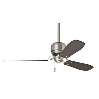 Casablanca 52-inch Tribeca Brushed Nickel 3-blade Ceiling Fan