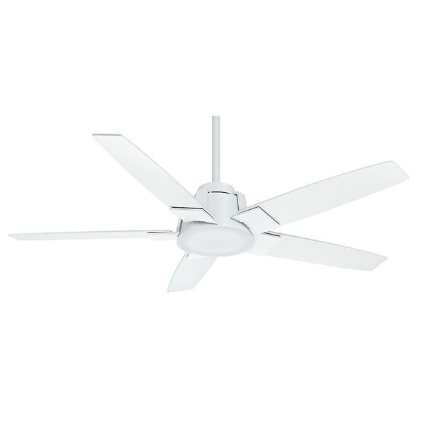 Casablanca 56-inch Zudio Snow White 5-blade Ceiling Fan - Snow White
