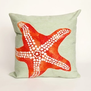 Liora Manne Sea Star Indoor/Outdoor 12 x 20 inch Throw Pillow (set of 2)