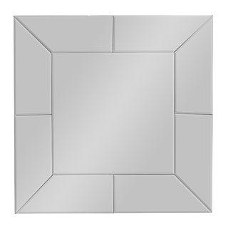 Baxton Studio Gerard Contemporary Square Accent Wall Mirror
