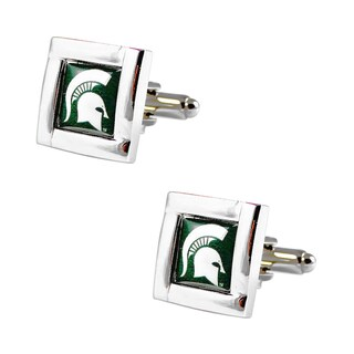 NCAA Team Logo Square Cufflinks Gift Box Set (2 options available)