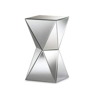 Shop Twisted Glass Mirror Table Free Shipping Today