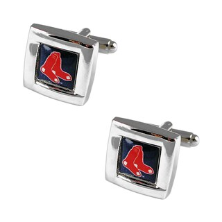 MLB Team Logo Square Cufflinks Gift Box Set (2 options available)