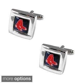MLB Team Logo Square Cufflinks Gift Box Set|https://ak1.ostkcdn.com/images/products/10161343/P17290408.jpg?impolicy=medium