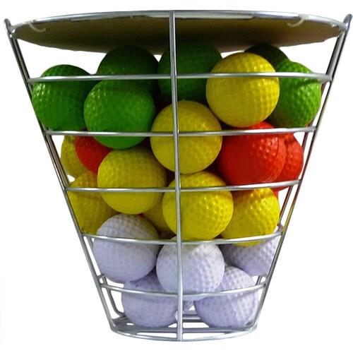 Range Bucket With 42 Foam Balls (Foam Practice Balls), As...