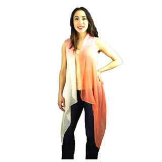 Le Nom Women's Two Tone Open Vest