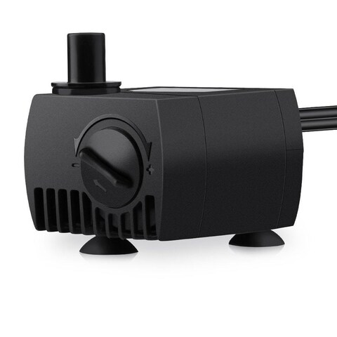 80GPH Submersible Pump Powerhead for Aquarium/ Fountain/ Hydroponics with 4.9 ft. Power Cord