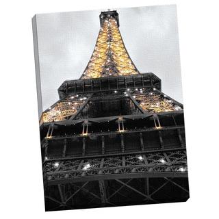 Portfolio Canvas Decor Sokol-Hohne 'Eiffel Lights' Framed Canvas Wall Art