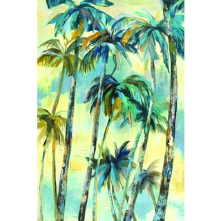 Portfolio Canvas Decor Sandy Doonan 'Dancing Palms' Framed Canvas Wall Art