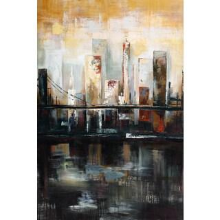 Portfolio Canvas Decor Sandy Doonan 'Tuesday's View' Framed Canvas Wall Art