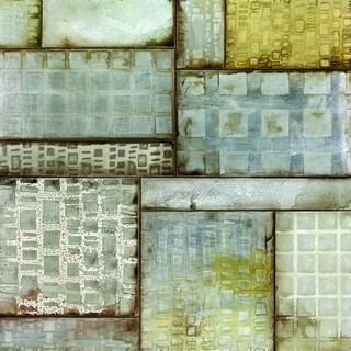Portfolio Canvas Decor Douglas 'Geometric Sequence' Framed Canvas Wall Art
