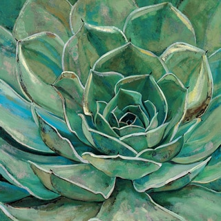 Portfolio Canvas Decor Elinor Luna 'Agave Bloom' Framed Canvas Wall Art