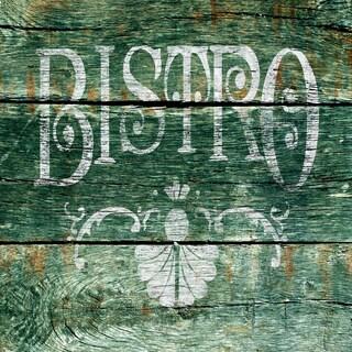 Portfolio Canvas Decor IHD Studio 'Vintage Signs - Bistro 3' Framed Canvas Wall Art
