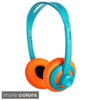 Polaroid PHP11 Super Light Weight Over-head Neon Headphones