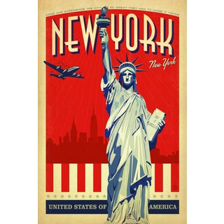 Portfolio Canvas Decor Anderson Design Group 'New York New York' Framed Canvas Wall Art