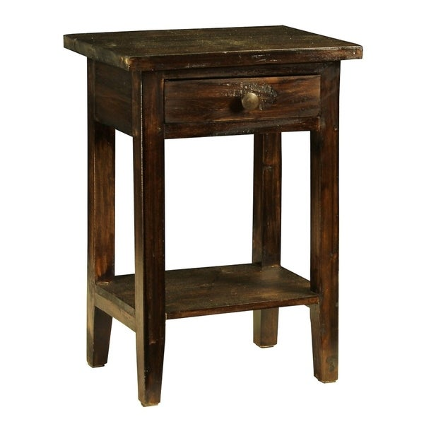 Carol Country Side Table