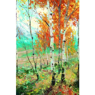 Portfolio Canvas Decor Dean Bradshaw 'Aspen Symphony' Framed Canvas Wall Art