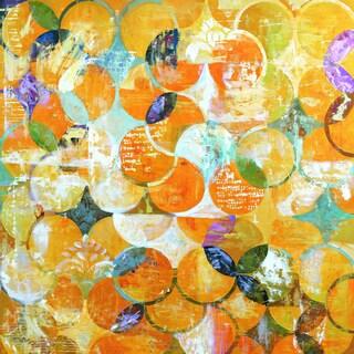 Portfolio Canvas Decor Frank Parson 'Radiant Day I' Framed Canvas Wall Art