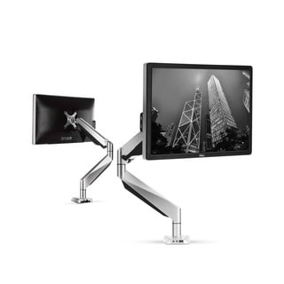 Loctek 10 to 27-inch Full Motion Gas Spring Arm Monitor Mount