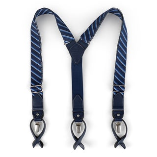 Tommy Hilfiger Men's Striped Convertible Suspenders