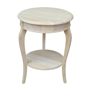 Cambria Ready to Finish Round End Table