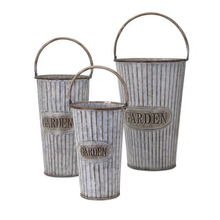 Jaden Metal Flower Pots (Set of 3)