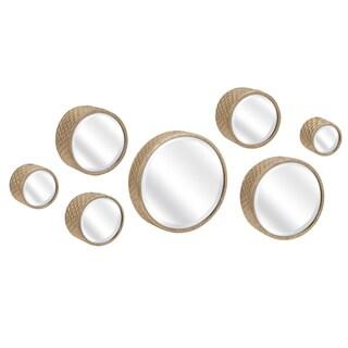 Covington Wall Mirrors (Set of 7) - Gold - A/N