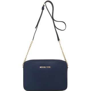 Link to MICHAEL Michael Kors Jet Set Navy Crossbody Bag Similar Items in Shop By Style