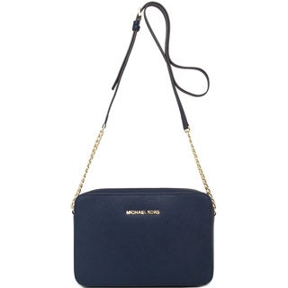 MICHAEL Michael Kors Jet Set Navy Crossbody Bag