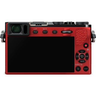 Panasonic LUMIX DMC-GM5 Mirrorless Micro Four Thirds Digital Camera with 12-32mm Lens (Red)