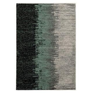 Linon Elegance Lave Blue Rug (2' x 3')