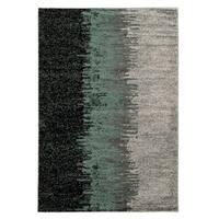 Linon Elegance Lave Blue Rug (8' x 10')
