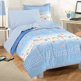 Dream Factory Beach Stripe 7-piece Bed in a Bag with Sheet Set|https://ak1.ostkcdn.com/images/products/10162914/P17291650.jpg?impolicy=medium