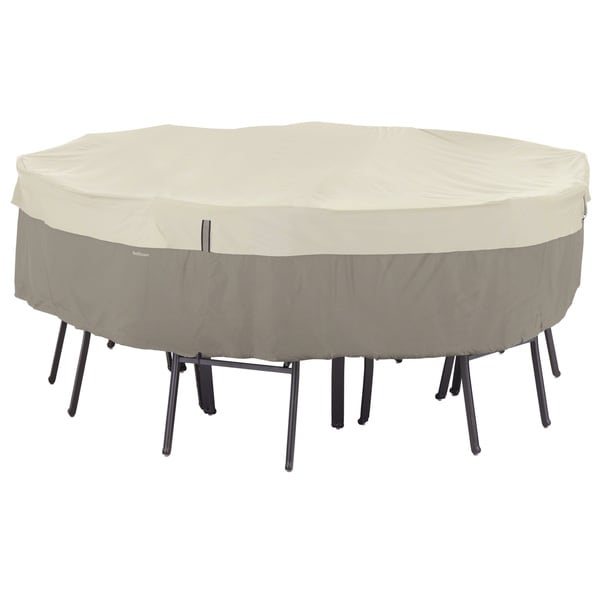 Shop Classic Accessories Belltown Grey Round Patio Table