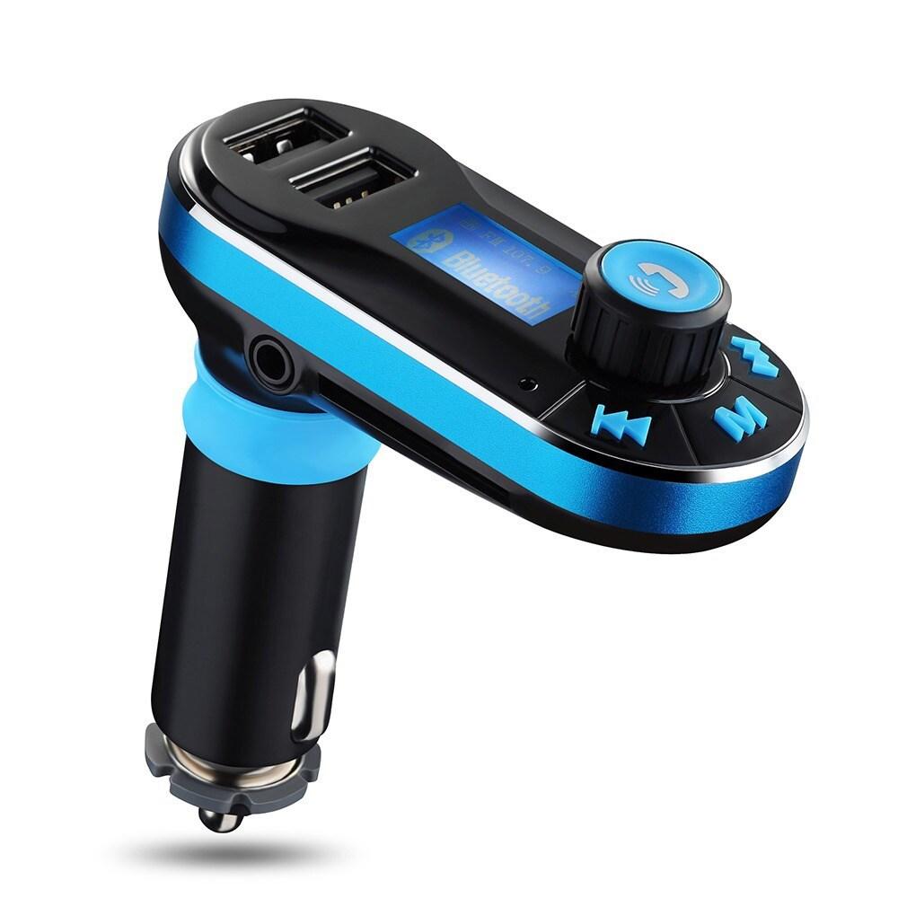 Coutlet Bluetooth FM Transmitter Hands-free Car Kit for M...