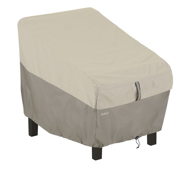 Shop Classic Accessories Belltown Grey Patio Chair Cover