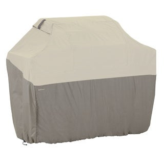 Classic Accessories Belltown Grey Gas Grill Cover