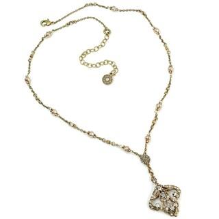 Sweet Romance Art Deco Vintage Arabesque Wedding Necklace