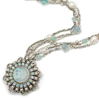 Sweet Romance Vintage Aurora Opal Moon Silver Necklace|https://ak1.ostkcdn.com/images/products/10163083/P17291787.jpg?impolicy=medium