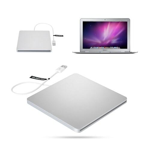 USB External Slot CD RW Drive Burner Superdrive for Apple MacBook Pro Air iMAC/ Laptop PC