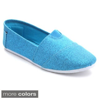 Syke Wt296 Women's Comfort Casual Slip On Canvas Flats