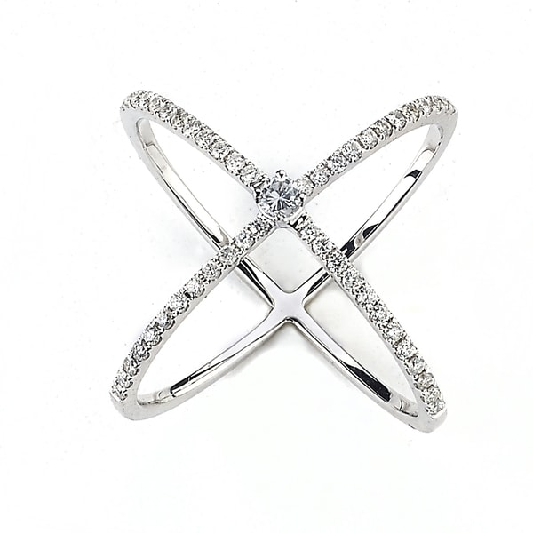 Shop Diamonds For A Cure 18k White Gold 1 2ct Tdw Diamond